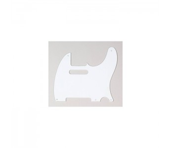 Allparts Tele® style Pickguard 1 ply White