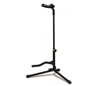 Hamilton Adjustable Neck Tubular Guitar Stand Black