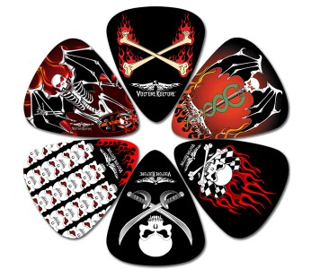 Perri's Vulture Kulture Guitar Picks - 6 pieces