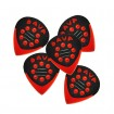 Dava Delrin Jazz Grip Red Guitar Pick