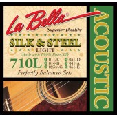 Guitar Patrol - La Bella 710L Silk & Steel