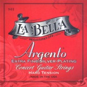 Guitar Patrol - La Bella Argento Red Classical Guitar Strings