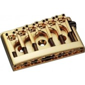 Guitar Patrol - Schaller 3D-6 Gold guitar bridge