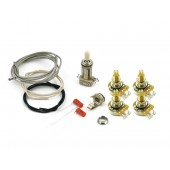 Guitar Patrol - Les Paul wiring kit, long shaft CTS pots