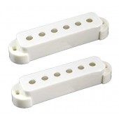 Allparts Pickup Covers Set Jaguar® White