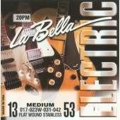 La Bella Electric Guitar Strings 20PM 13-53