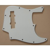 Allparts J-Bass® Style Pickguard 3 ply White
