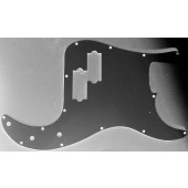 Allparts Precision Bass Style Pickguard 3 ply Black