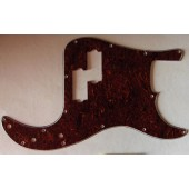Allparts Precision Bass Style Pickguard 3 ply Tortoise
