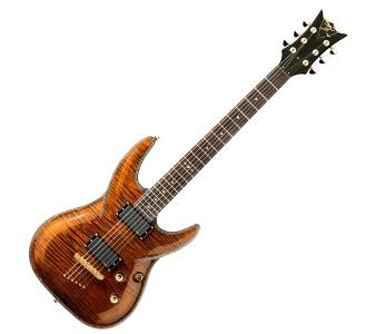 DBZ Guitars Barchetta Eminent Tiger Eye
