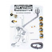 Allparts Wiring Kit for SG