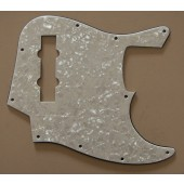 Mighty Mite MM5907 J-Bass Style Pickguard White Pearloid