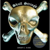 Skull Strings Drop C 11-58 Guitar Strings