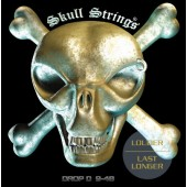 Skull Strings DROP D 9-48 Guitar Strings